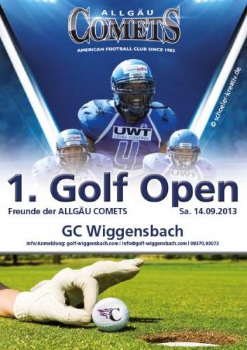 Plakat Comets Open